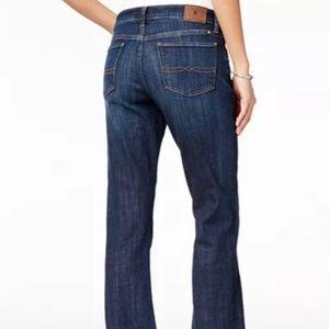 Lucky Brand boot cut jeans short inseam 6/28